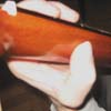 Большой палец левой руки согнут