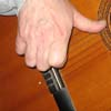 Палец напряжен, размах велик